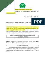 MODELO - Inicial BPC Idoso