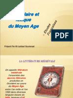 La littérature médiévale
