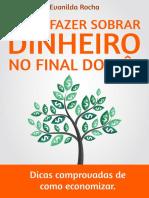 Como Fazer Sobrar Dinheiro no Final do Mês – Evanilda Rocha