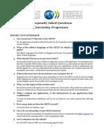 OECD-Internship-FAQs