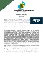 CIRCULAR 24 DE 2012 - ATENCION Y AFILIACION AL RECIEN NACIDO