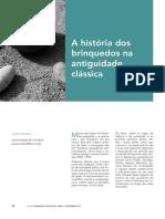 AMADO, João. A história dos brinquedos na antiguidade clássica