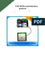 YR903 UHF RFID reader module_protocol_