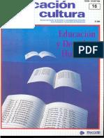 Educación y Cultura (Num 16 Oct 1988)