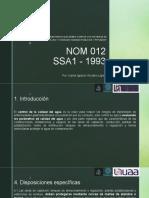 NOM 012 SSA1 - 1993