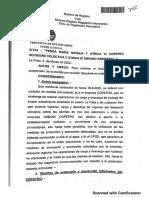 Fallo Copetro del Juzgado Contencioso Adm N° 3 - Marzo 2020