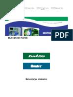 Controladores automáticos para sistemas de riego de uso residencial