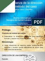La enseñanza de la dirección y el método del caso Carlos Llano Cifuentes
