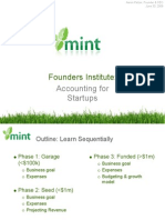 Mint Founder Institute Accounting