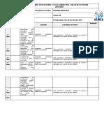 Planejamento Matemática 9º ano 10 a 28 de Fevereiro de 2020