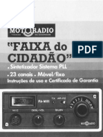 Motoradio_FA-M21_-_Manual_do_Usuário