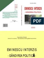 EMINESCU INTERZIS - GANDIREA POLITICA