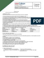 Philippines Politics and Governance Final Exam