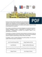 Resumen de Buenas Practicas Docentes, PACE UCN