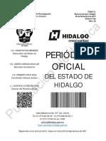 Protocolo de Actuación de SSP HIDALGO 25Dic18