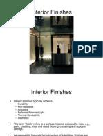 Interior Finishes (1)