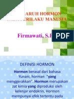 Pengaruh Hormon Pada Perilaku Manusia