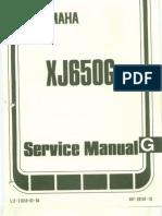 Yamaha XJ550 Seca XJ 550 Service Specifications Manual