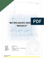 Rectificador e inversor trifasico