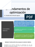 1. Fundamentos de Optimización