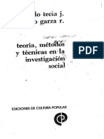 Alfredo Tecla J y Alberto Garza R. Teoria y Metodos y tecnicas en la investigacion social.pdf