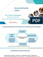 Descentralización en Salud 2019
