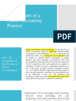 Management of Public Accounting Practice