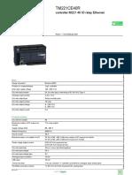PLC - Modicon M221_TM221CE40R
