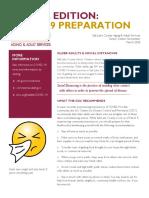 Newsletter COVID-19