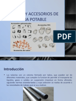 TUBERIAS Y ACCESORIOS DE AGUA POTABLE