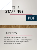 What-is-STAFFING in management