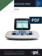 Grason-Stadler GSI Audiostar Pro Instruction Manual Rev C
