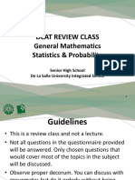 GENMATH and STATPRO_Review Materials