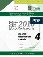 4o Cuaderno de Prácticas Escolares