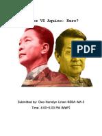 Marcos VS Aquino