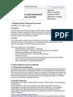 01 Corrective and Preventive Action CAPA V1 3 P3