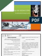 TÉCNICAS DE REDACCIÓN(1)