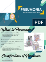 REPORT ON PNEUMONIA