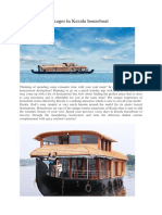 Honeymoon Packages in Kerala Houseboat