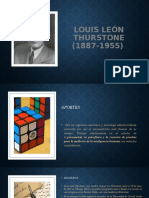 Louis León Thurstone (1887-1955)