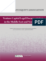 Venture Capital Legal Prospect in the Middle East
