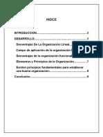 ENSAYO SOBRE LA DEFINICION DE ORGANIZACION EMPRESARIAL.docx
