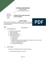 SOW- Davao Pier Repair_18feb2020