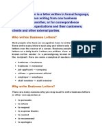 A business letter is a letter written in formal language.docx