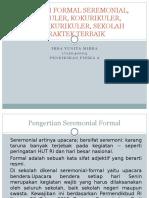SEREMONIAL FORMAL