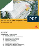 2018.07.26 - Sika - Proposals for Waterproofing - Sagen.pptx