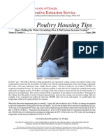 Poultry Housing Tips August 2006
