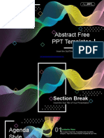 Abstract Wave Lines PowerPoint Templates.pptx
