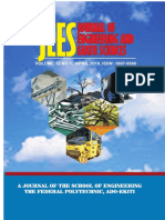 Journal of Engineering and Earth Sciences