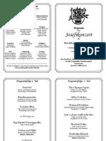 Josefikonzert Programm 2020